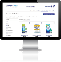 Refresh Direct eCommerce website
