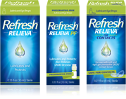 Refresh Eye Drops, Gels, and Ointments