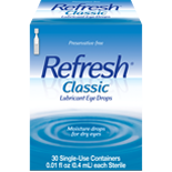 Refresh Classic Artificial Tear Eye Drops
