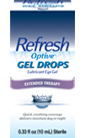 Refresh Optive Gel Drops for Dry Eye