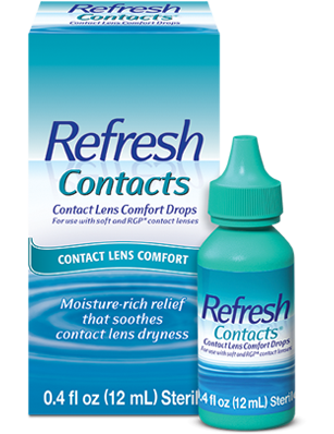 e580868bdb3 CONTACT LENS COMFORT DROPS. REFRESH CONTACTS reg  product photo