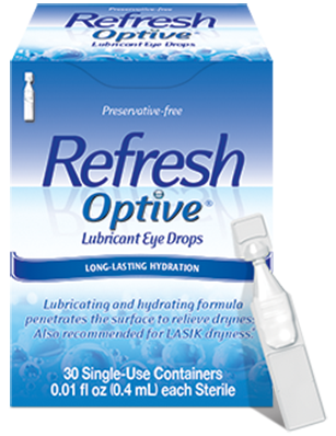 REFRESH OPTIVE® Preservative-free product photo