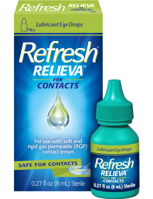 REFRESH® RELIEVATM FOR CONTACTS product photo
