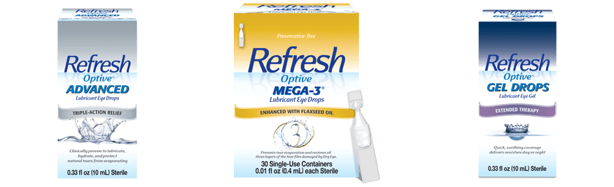 Refresh Brand Eye Drops