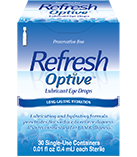 Refresh Optive Preservative Free Eye Drops