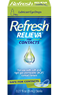 Refresh Relieva for contacts Lubricant Eye Drops