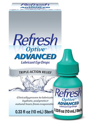 Refresh Optive Advanced Eye Lubrication Drops