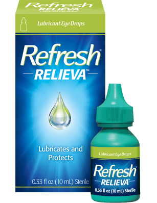 Refresh Relieva Lubricant Eye Drops